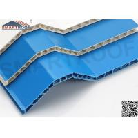 Buy cheap Hollow Style PVC Roof Shingles Eco - Friendly With Thermal / Sound Insulation from wholesalers