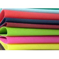 Buy cheap 400gsm Staple 100 Polyester Non Woven Fabric / Nonwoven Geotextile Fabric from wholesalers