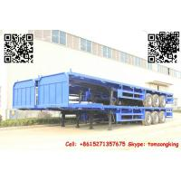 Buy cheap TIC Flatbed container trailer from wholesalers