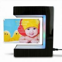 Buy cheap Magnetic Floating Photo Frame, 0 to 1kg (Optional) Levitates and Turns in Mid-air from wholesalers