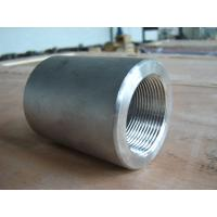 Buy cheap forged pipe fittings npt ss316 forged clamp coupling from wholesalers