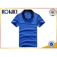 Buy cheap Promotional Custom Work Polo Shirts Custom Embroidery For Man from wholesalers