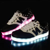 Buy cheap Hot Sale New Design Flyknit Led Shoes with 7 led colors led shose from wholesalers
