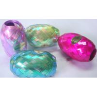 Buy cheap Iridescent rainbow 5mm10m Curled Ribbon Egg for Wedding and Valentine's day decoration from wholesalers