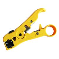 Buy cheap Coax Cable Stripper RG6 RG59 RG7 RG11 Rotary 2 Blades from wholesalers