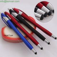 Buy cheap brand multifunction touch screen Iphone pen, metallic lacquer plastic pen from wholesalers