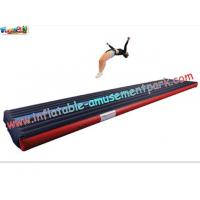 Buy cheap Popular Air Tumbling Inflatable Track, Inflatable Sports Games Track With Different Size from wholesalers