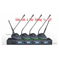 Buy cheap Professional 4 Gooseneck UHF Wireless Microphone for Conference , Meeting use from wholesalers