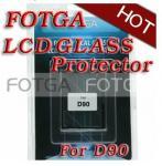 Buy cheap Pro Optical Digital Camera LCD Screen FOTGA Glass Protector for Nikon d90 6 Layers from wholesalers