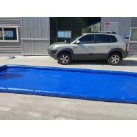 Buy cheap Flexible Blue Car Wash Mats Water Containment Printing Double - Tripple Stitch from wholesalers