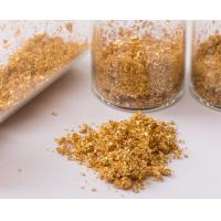 Buy cheap Skincare essence soap and cream decoration ingredients 24k edible gold flakes from wholesalers