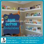 Buy cheap colored 5.2 PVC rain gutter bookshelves from wholesalers