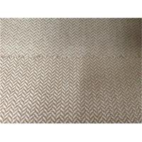 Buy cheap polyester herringbone cationic suede fabric from wholesalers