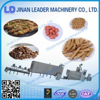 Buy cheap Better Textured soya protein  Vegetarian soya meat Soya nugget food making machine from wholesalers