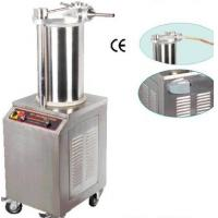 Buy cheap Rapid Sausage Processing Equipment 750W Hydraulic Sausgae Filler CE Certification from wholesalers