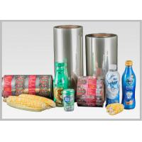 Buy cheap Moistureproof Environmentally Friendly Pla Shrink Film / Compostable Plastic from wholesalers