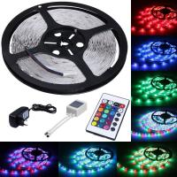 Buy cheap 5m Length Color Changing LED Strip Lights 300 LEDs SMD 3528 With Remote Control from wholesalers