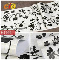 Buy cheap Classcial Printed PVC Artificial Flim For Wall Deciration , 140 CM Width from wholesalers