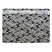 Buy cheap Breathable Cotton Nylon Lace Fabric , Flower Lace Fabric OEM / ODM CY-LW0016 from wholesalers