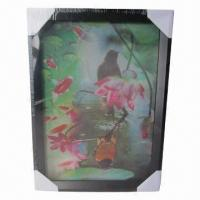 Buy cheap Framed Lenticular 3D Picture from wholesalers