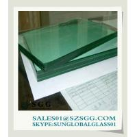 Buy cheap 6mm laminated frosted glass sheet from wholesalers