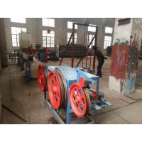 Buy cheap Hot Galvanized Iron Wire PVC Coated Machine for Hexagonal Wire Netting 4kw from wholesalers