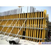 Buy cheap Professional Concrete Wall Forming Systems With H20 Beam And Steel Walers from wholesalers