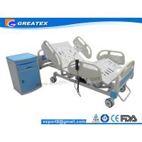 Buy cheap Height Adjustable Hill Room Electric Hospital Bed with bumper castors Five Year Warranty from wholesalers
