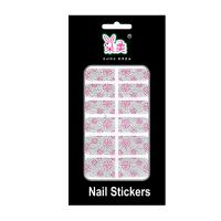 Buy cheap 3D / Paper Finger Nail Stickers Wraps , Nail polish Art Design For Women from wholesalers