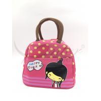 Easily Carry Ladies Lunch Bags , Neoprene Cooler Bag To Keep Food Warm