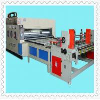 Buy cheap corrugated cardboard water ink printer slotter die cutter stacker with auto paper feeding from wholesalers