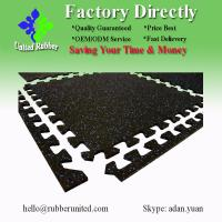 Buy cheap EPDM Dotted Rubber Floor Mats, Gym Rubber Mat For Fitness Room from wholesalers