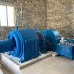 Buy cheap Brushless Excitation Hydro Water Turbine Generator , Horizontal Water Turbine from wholesalers