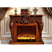 Buy cheap Energy Efficient Contemporary Electric Fireplace For Reception Room / Hotel Hall from wholesalers