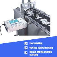 Buy cheap Expiration Date Batch Number Inkjet Coding Machine High Performance Logo Printing from wholesalers
