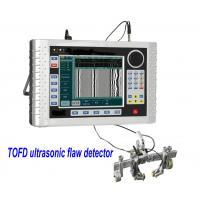 Buy cheap Digital TOFD Ultrasonic Flaw Detector Negative square wave pulse adjustable TOFD400 from wholesalers