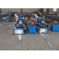 Buy cheap Non stop cutting Shutter Door Slats Roll Forming Machine from wholesalers