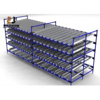 Buy cheap 4 Tier Warehouse Adjustable Multi-Level Flow Rack High Efficiency from wholesalers