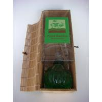 Buy cheap glass reed diffuser set in bamboo box from wholesalers