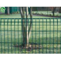 Buy cheap Powder coated green 6005 welded wire brc mesh decorative frontyard fencing and gate from wholesalers