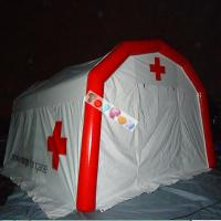 Buy cheap PVC Airtight Inflatable Medical Tent Most Practical Air Sealed Inflatable Rescure Tent from wholesalers