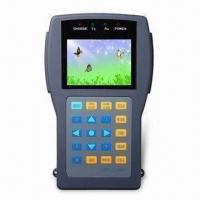 Buy cheap CCTV Tester, with 2.5-inch LCD monitor, Resolution: 960x240 pixels, with OSD menu, DC9V, 2000mA from wholesalers