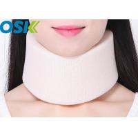 Buy cheap Foam Cervical Support Brace White / Skin Color S / M / L Optional Sizes from wholesalers