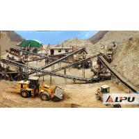 Buy cheap Low Electric Power Consumption Stone Crushing Plant For Highway , Bridge Building from wholesalers