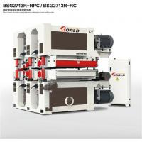 Buy cheap 4-head double-side calibrating wide belt sander, BSG2713R-RPC/ BSG2713R-RC from wholesalers