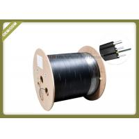 Buy cheap 2 Cores Outdoor FTTH Fiber Optic Cable Single Mode With FRP Strength Member LSZH Jacket from wholesalers