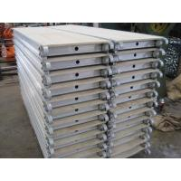 Buy cheap Scaffolding / Scaffold Galvanized Aluminum Scaffold Plank With Hook from wholesalers