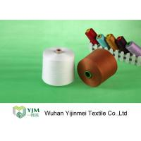 Buy cheap Raw White  Polyester TFO Yarn Good Elasticity For Sewing By Hand / Machine product