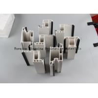 Buy cheap Plastic Extruded UPVC Trim Profiles UV Stability / Efficient Thermal Insulation from wholesalers