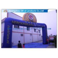 Buy cheap Commercial Digital Printing Custom Inflatable Arch For Amusement Park product